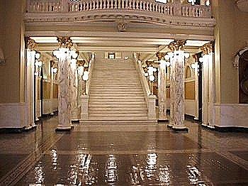 Third Floor Grand Marble Stairway